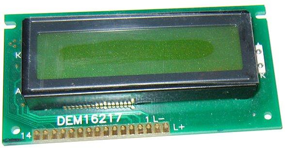Branchement LCD