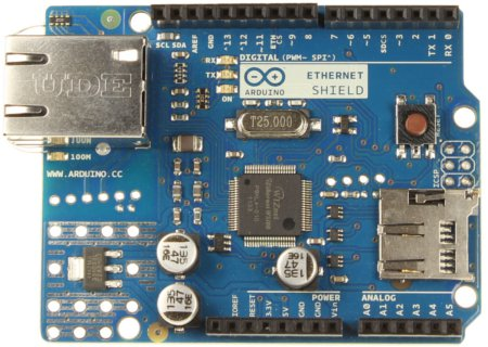 Le shield Ethernet Arduino